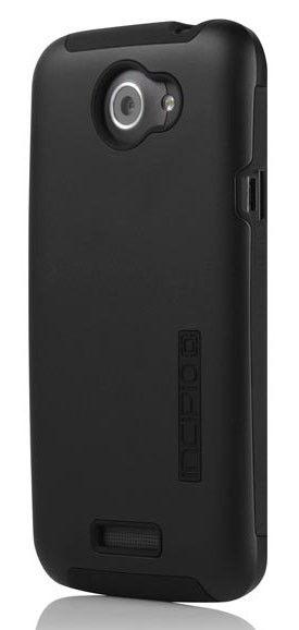 Чехол (клип-кейс) INCIPIO Silicrylic, для HTC One X, черный [ht-283]