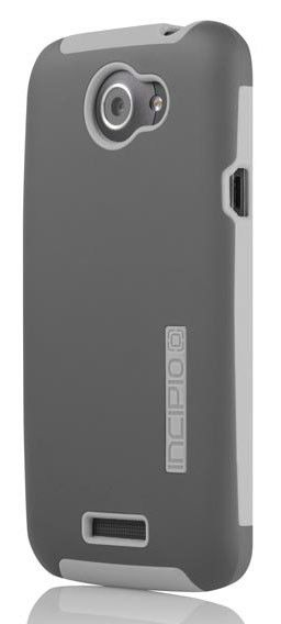 Чехол (клип-кейс) INCIPIO Silicrylic, для HTC One X, темно-серый [ht-286]