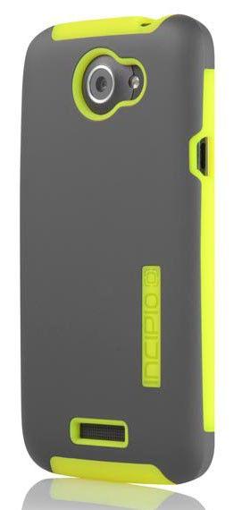 Чехол (клип-кейс) INCIPIO Silicrylic (HT-285), для HTC One X, темно-серый