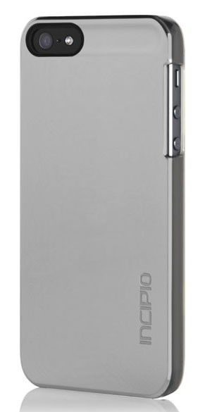 Чехол (клип-кейс) INCIPIO Feather Shine (IPH-917), для Apple iPhone 5, серый