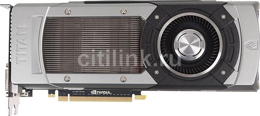 Видеокарта ASUS GeForce GTX TITAN,  6Гб, GDDR5, Ret [gtxtitan-6gd5]