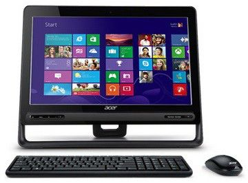 Моноблок ACER Aspire ZC-605t, Intel Pentium, 4Гб, 1Тб, Intel HD Graphics, DVD-RW, Windows 8 [dq.srber.001]