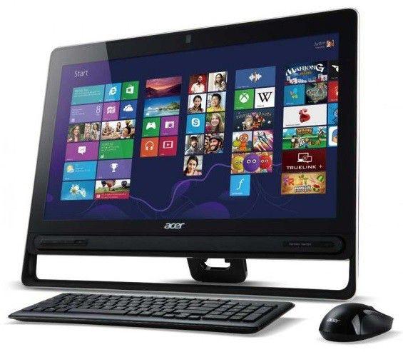 Моноблок ACER Aspire Z3-605, Intel Pentium Dual-Core 2117U, 4Гб, 500Гб, Intel HD Graphics, DVD-RW, Windows 8, черный [dq.sp6er.001]