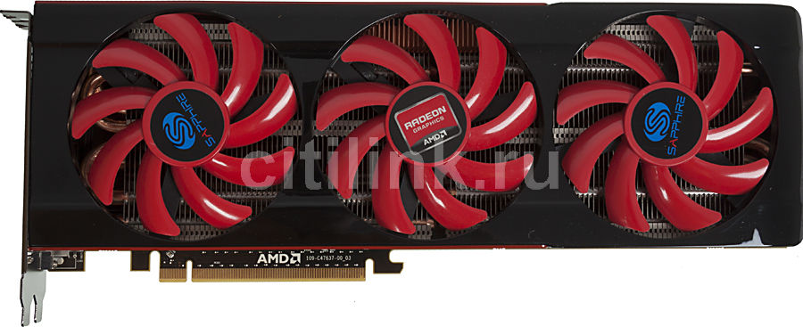 Видеокарта SAPPHIRE Radeon HD 7990,  21207-00-43G,  6Гб, GDDR5, Ret