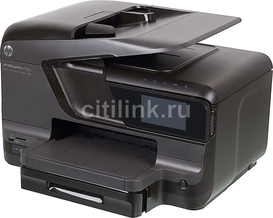 МФУ HP OfficeJet Pro 276dw, A4, цветной, струйный, черный [cr770a]