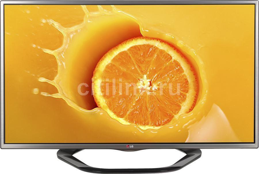 "LED телевизор LG 42LA615V  ""R"", 42"", 3D,  FULL HD (1080p),  серебристый/ черный"