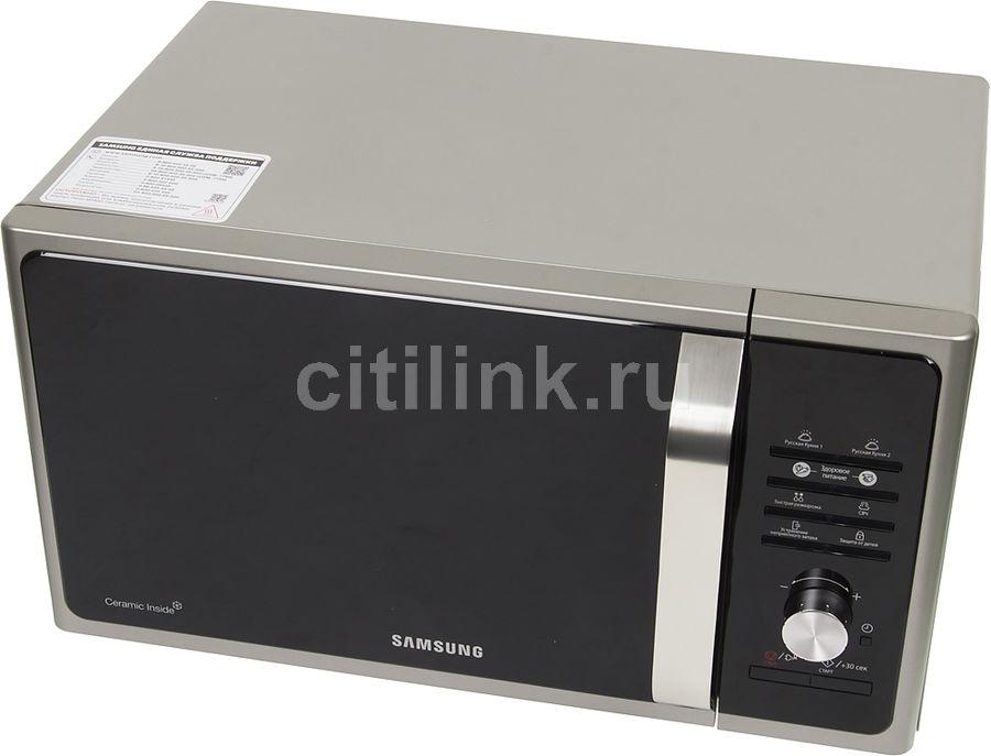 Микроволновая печь SAMSUNG MS23F302TAS, серебристый