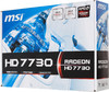 Видеокарта MSI Radeon HD 7730,  R7730-1GD5,  1Гб, GDDR5, Ret вид 6
