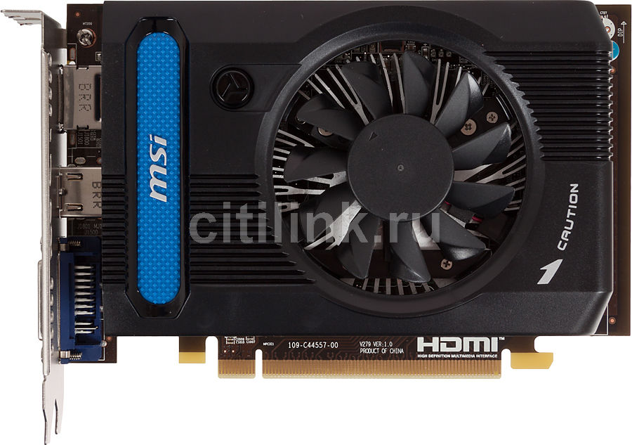 Видеокарта MSI Radeon HD 7730,  R7730-1GD5,  1Гб, GDDR5, Ret