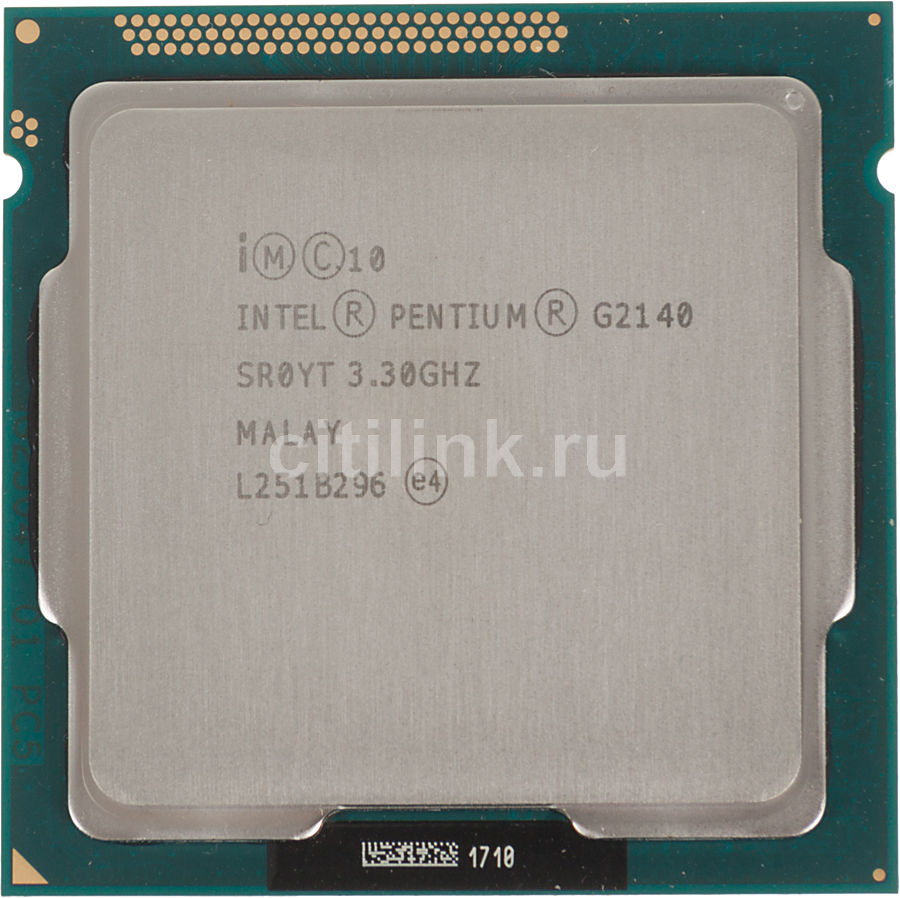 Процессор INTEL Pentium Dual-Core G2140, LGA 1155 OEM [cm8063701391100s r0yt]