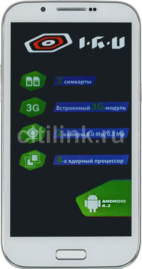 Смартфон IRU M5301  белый