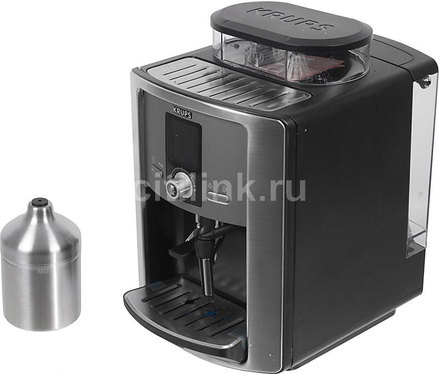 Кофемашина KRUPS EA8050PE,  серебристый