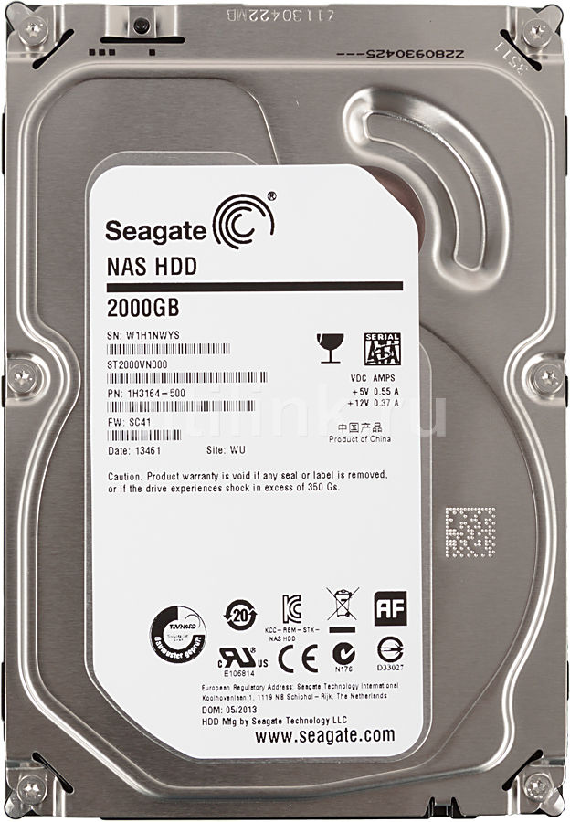 Жесткий диск Seagate Backup Plus Slim 1Tb Blue USB 3.0 STDR1000202