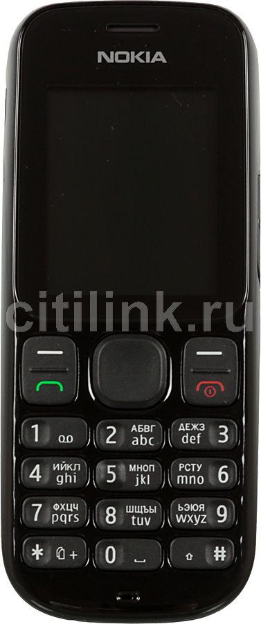 Мобильный телефон NOKIA 101  черный