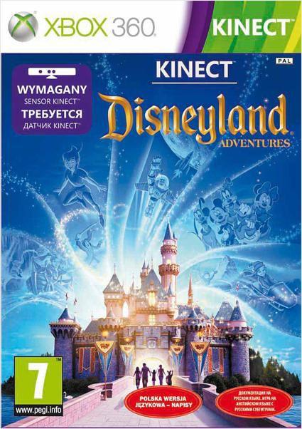 Игра BUKA Kinect Disneyland Adventures для  Xbox360 Eng