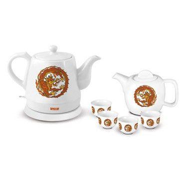 Чайный набор Mystery MEK-1624 белый (корпус: керамика)