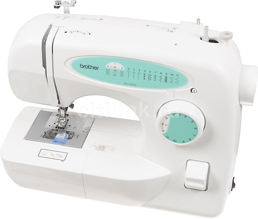 Швейная машина BROTHER XL-2250 белый [xl2250]