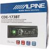 Автомагнитола ALPINE CDE-173BT,  USB вид 6