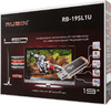 "LED телевизор RUBIN RB-19SL1U SR  ""R"", 19"", HD READY (720p),  серебристый вид 12"