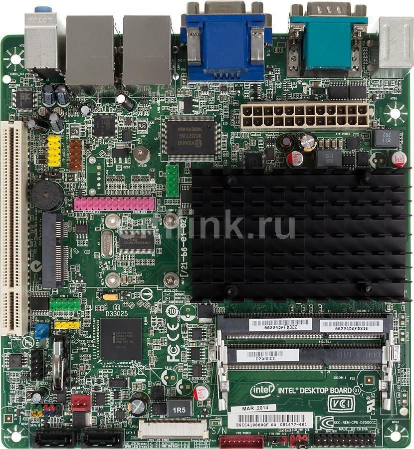 Материнская плата INTEL D2500CCE mini-ITX, bulk