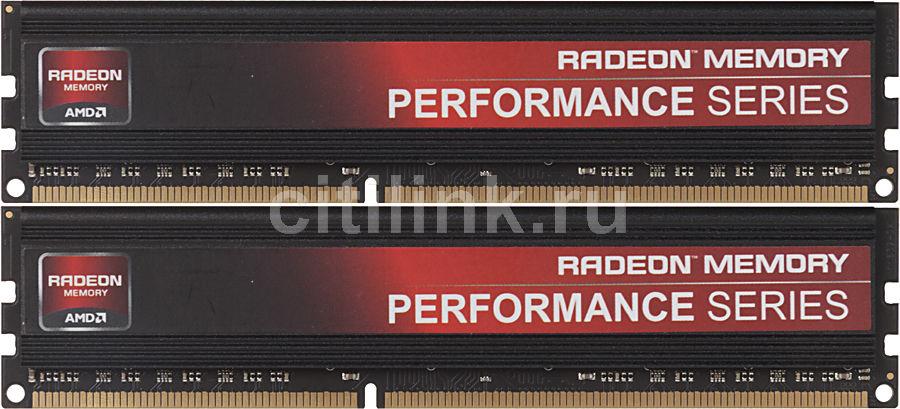 Модуль памяти AMD AP316G1869U2K DDR3 -  2x 8Гб 1866, DIMM,  Ret