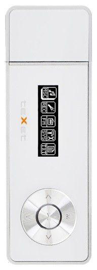 MP3 плеер TEXET Т-169 flash 4Гб белый