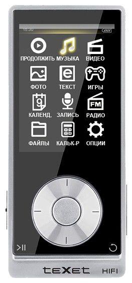 MP3 плеер TEXET Т-489 flash 4Гб черный