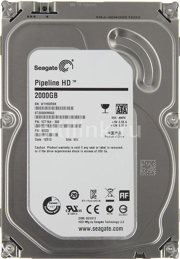 Жесткий диск SEAGATE ST2000VM003,  2Тб,  HDD,  SATA II,  3.5