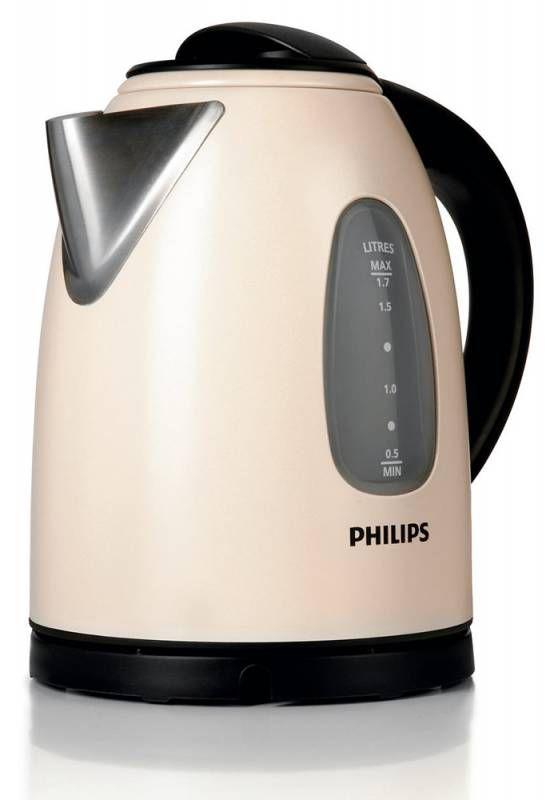 Чайник электрический PHILIPS HD4665/60, 2400Вт, бежевый