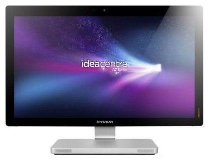 Моноблок LENOVO IdeaCentre A720, Intel Core i7 3630QM, 8Гб, 1000Гб, nVIDIA GeForce GT630M - 2048 Мб, DVD-RW, Windows 8, черный и серебристый [57316758]