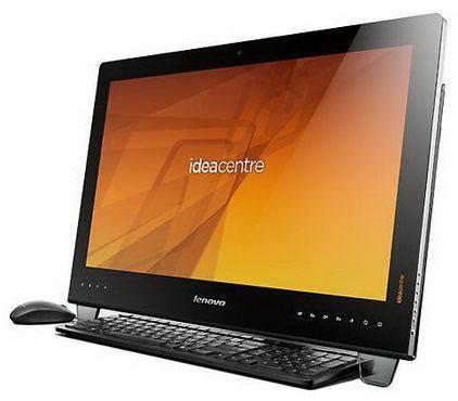 Моноблок LENOVO IdeaCentre B540, Intel Core i7 3770S, 8Гб, 1000Гб, nVIDIA GeForce 615 - 2048 Мб, DVD-RW, Windows 8, черный [57315876]