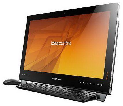 Моноблок LENOVO IdeaCentre B540, Intel Core i5 3330S, 6Гб, 2Тб, nVIDIA GeForce 615 - 2048 Мб, DVD-RW, Windows 8, черный [57315851]
