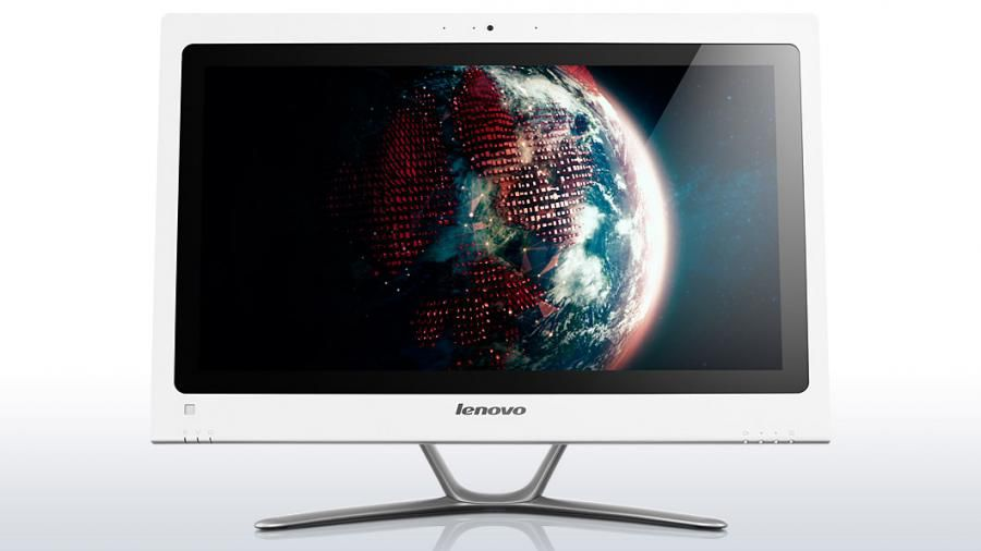Моноблок LENOVO C440, Intel Core i3 3240, 4Гб, 500Гб, nVIDIA GeForce 615 - 2048 Мб, DVD-RW, Windows 8, белый [57316081]
