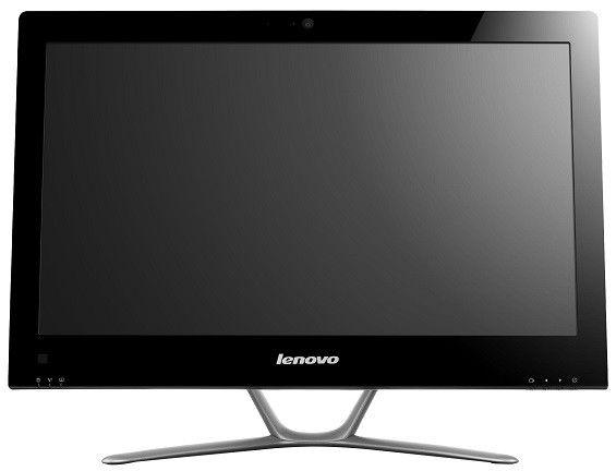 Моноблок LENOVO C440, Intel Core i5 3330S, 4Гб, 1000Гб, nVIDIA GeForce 615 - 2048 Мб, DVD-RW, Windows 8, черный [57311063]