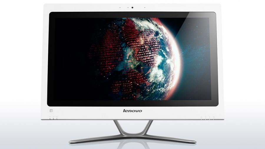 Моноблок LENOVO C440, Intel Core i3 3240, 4Гб, 500Гб, Intel HD Graphics 2500, DVD-RW, Free DOS, белый [57316080]