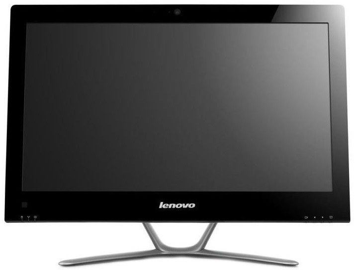 Моноблок LENOVO C340, Intel Core i3 3240, 4Гб, 500Гб, nVIDIA GeForce 615 - 2048 Мб, DVD-RW, Windows 8, черный и серебристый [57316115]