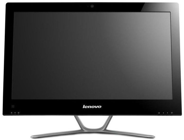 Моноблок LENOVO C340, Intel Core i3 3240, 4Гб, 500Гб, nVIDIA GeForce 615 - 2048 Мб, DVD-RW, Free DOS, черный и серебристый [57316110]