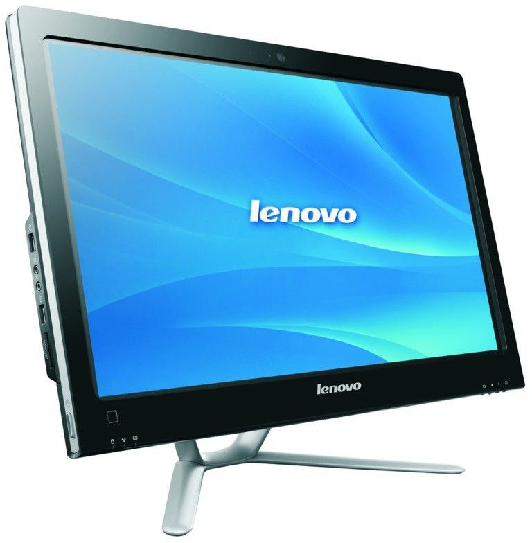 Моноблок LENOVO C340, Intel Core i3 3240, 4Гб, 500Гб, Intel HD Graphics 2500, DVD-RW, Windows 8, белый и серебристый [57316107]