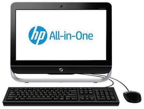 Моноблок HP Pro 3520, Intel Pentium Dual-Core G2020, 4Гб, 1000Гб, Intel HD Graphics, DVD-RW, Windows 8, черный и серебристый [h4m55ea]