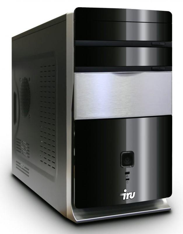 Компьютер  IRU Corp 310,  Intel  Pentium  G630,  DDR3 2Гб, 320Гб,  DVD-RW,  Windows 7 Professional,  черный