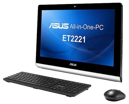 Моноблок ASUS ET2221AUKR, AMD A6 5350M, 4Гб, 500Гб, AMD Radeon HD 8450G, DVD-RW, noOS, черный и серебристый [90pt00k1-m00080]