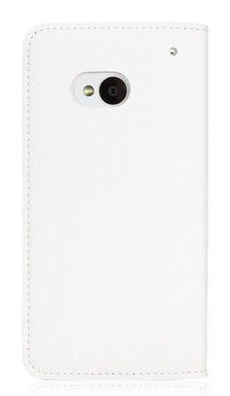 Чехол (флип-кейс) GGMM Kiss-H1, для HTC One, белый [htc02502]