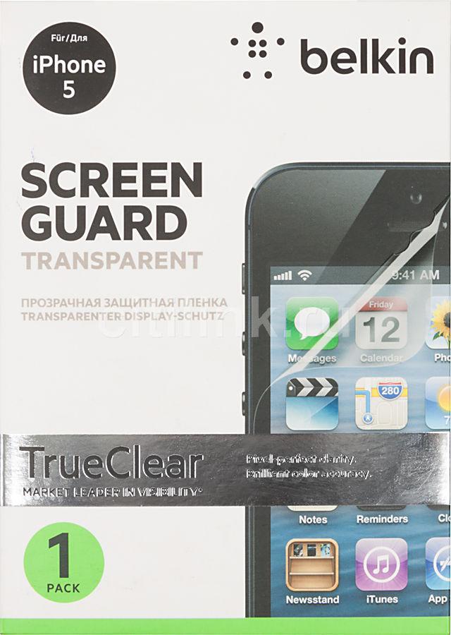 Защитная пленка BELKIN F8W179br  для Apple iPhone 5,  1 шт
