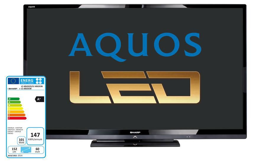 LED телевизор SHARP Aquos LC60LE636ERU  60