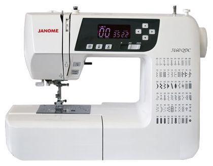 Швейная машина JANOME 3160 QDC белый