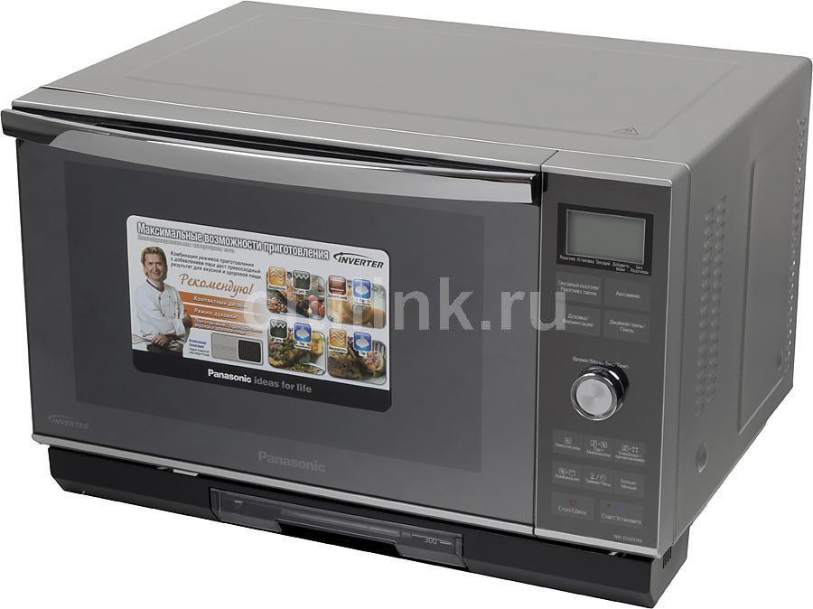 Микроволновая печь PANASONIC NN-DS592MZPE, серебристый