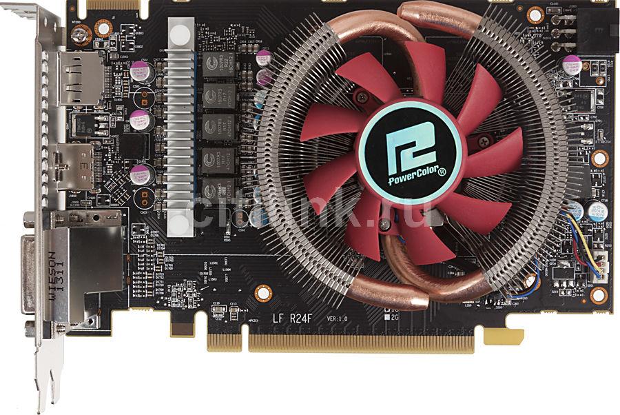Видеокарта POWERCOLOR Radeon HD 7790,  1Гб, GDDR5, OC,  Ret [ax7790 1gbd5-dh/oc]