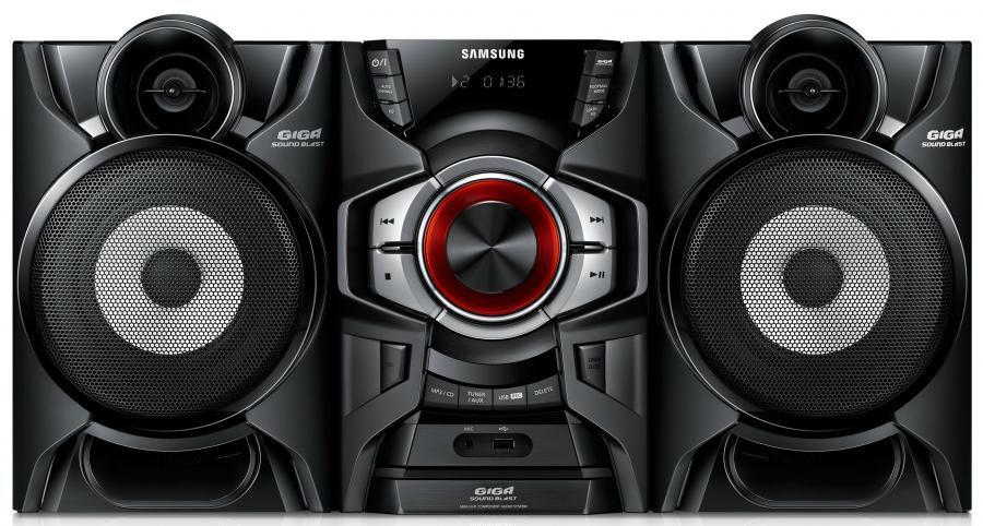 Музыкальный центр SAMSUNG MX-F630DB,  черный [mx-f630db/ru]