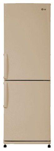 Холодильник LG GA-E379UECA,  двухкамерный,  бежевый