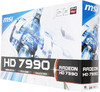 Видеокарта MSI Radeon HD 7990,  R7990-6GD5,  6Гб, GDDR5, Ret вид 7